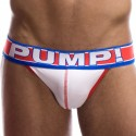 Ice Jockstrap - White - Red