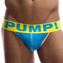 Spring Break Jockstrap - Blue - White
