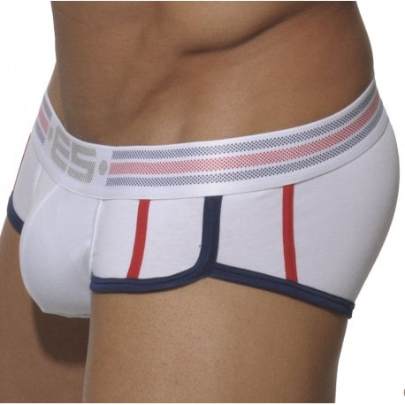 Olympic Sport Push-Up Brief - White