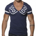 V-Neck 69 T-Shirt - Navy