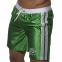 Shiny Bermuda Shorts - Green