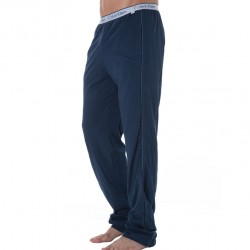 Pantalon CK One Cotton Stretch Bleu Calvin Klein