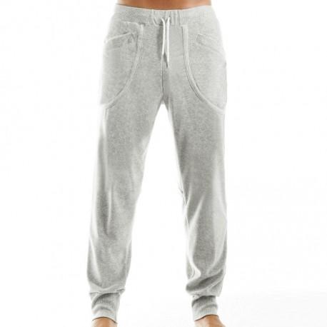Pantalon Velvet Gris