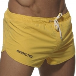 Short de Bain Curve Jaune Addicted