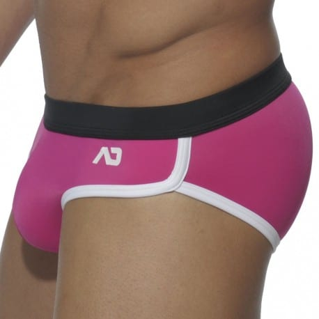 Sports Swim Brief - Fuchsia