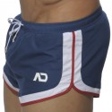 Three Tone Swim Short - Navy