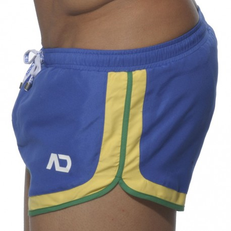 Three Tone Swim Short - Royal