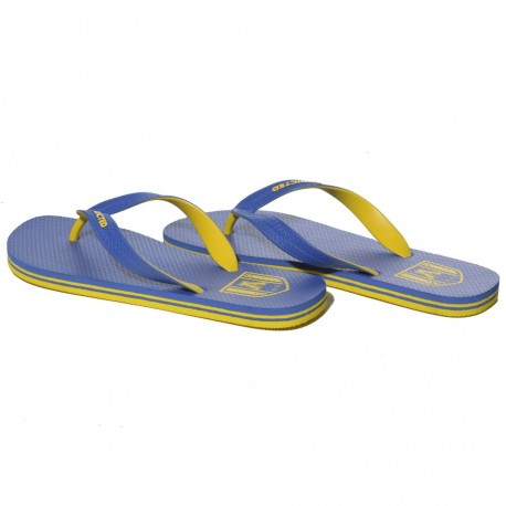 Two Tone Flip Flops - Royal