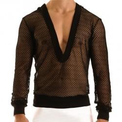 T-Shirt Hoodie French Noir Modus Vivendi
