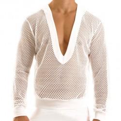 T-Shirt Hoodie French Blanc Modus Vivendi