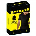 Six Pack Compression V-Neck T-Shirt - Black