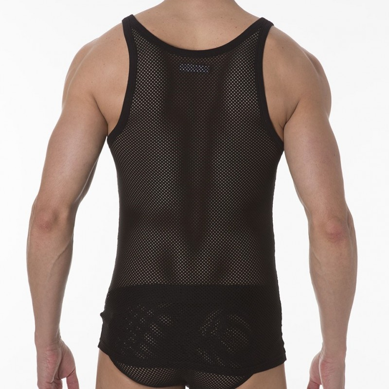 The tank top is made of lightweight mesh fabric which makes it functional yet fashionable. The mesh fabric ensures adequate breathability so that the wearer feels comfortable to stride past the blazing cpdlp9wivh506.ga tank is see-through and has black piping at the armhole and neck area.