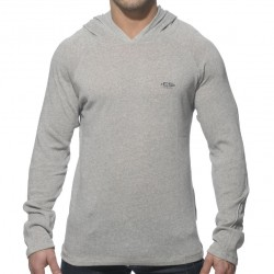 Sweat-Shirt Hoodie Gris ES Collection