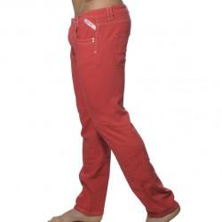 Pantalon en Jeans Rouge ES Collection
