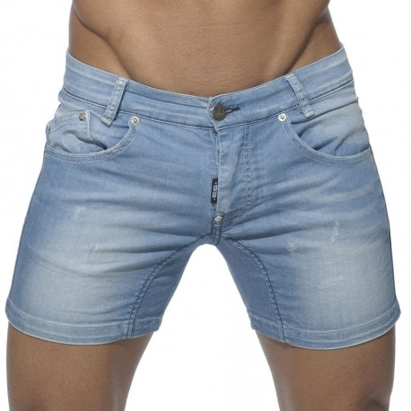Jean Shorts - Light Blue