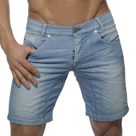 Jeans Bermuda - Light Blue