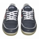 SNL 15 Leather Sneakers - Navy