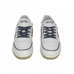 Chaussures de sport en cuir SNL 15 Blanc ES Collection