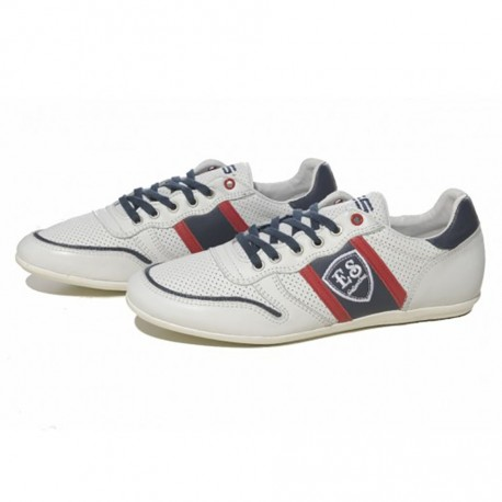 SNL 15 Leather Sneakers - White
