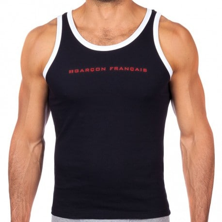 Le Tombeur Tank Top - Navy