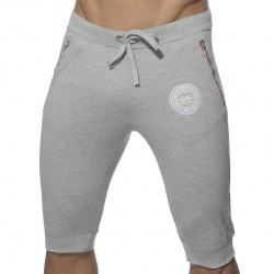 Pantalon Court Pique Gris ES Collection