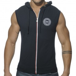 Veste Pique Hoody Marine ES Collection