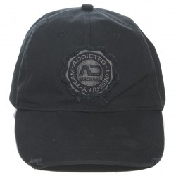 Casquette Baseball Noire Addicted