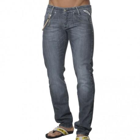 Pantalon Jeans Basic Indigo Clair