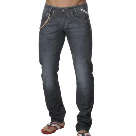 Basic Jeans Pants - Dark Indigo