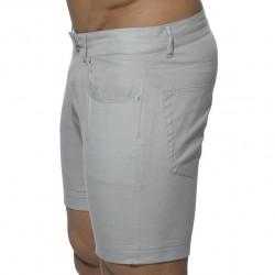 Bermuda Jeans Gris Addicted