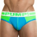 Raver Brief - Lime - Teal