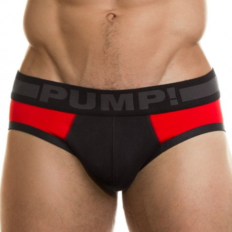 Scorpion Brief - Red - Black