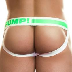 Jock Strap Blow Pop Blanc - Vert  Pump!