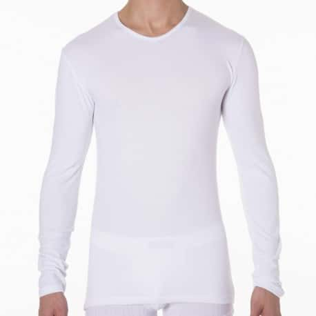 2-Pack Dry & Cool Long Sleeves T-Shirts - White