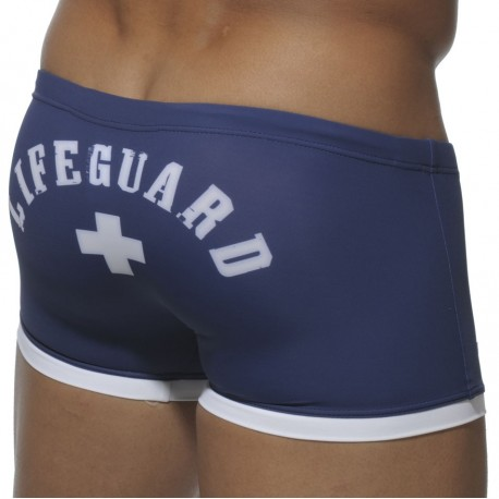 Lifeguard Swim Boxer - Navy