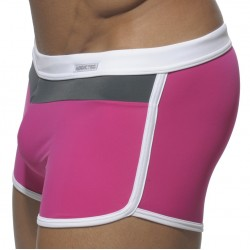 Boxer de Bain Three Colors Fuchsia Addicted