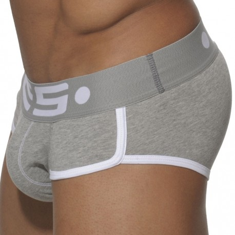 Dimension 1 Brief - Grey