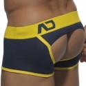 V Bottomless Boxer - Navy