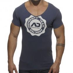 T-shirt Stamp Marine Addicted