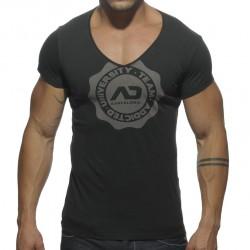 T-shirt Stamp Noir Addicted