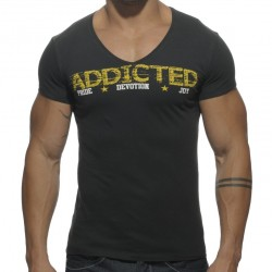 T-Shirt Addicted Noir Addicted