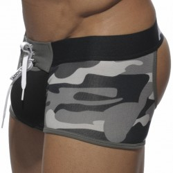Boxer Tie-Up Empty BottomCamouflage Addicted