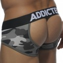 Tie-Up Empty Bottom Brief - Camouflage