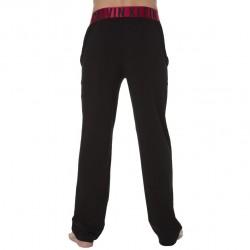 Pantalon Yoga Stretch Cotton Noir Calvin Klein