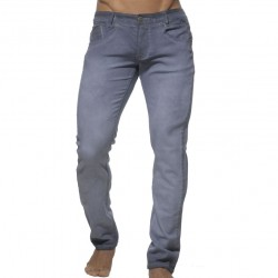 Pantalon Jeans Délavé Gris ES Collection