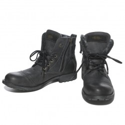 Boots Biker Noires ES Collection