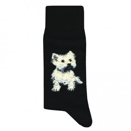 Chaussettes avec chiens