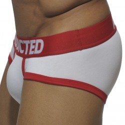 Basic Colors Brief - White - Red Addicted