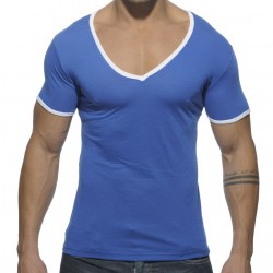 T-Shirt Basic Colors Royal Addicted