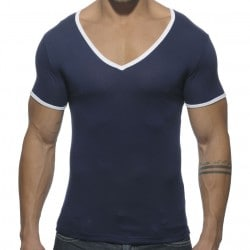 Basic Colors T-Shirt - Navy Addicted